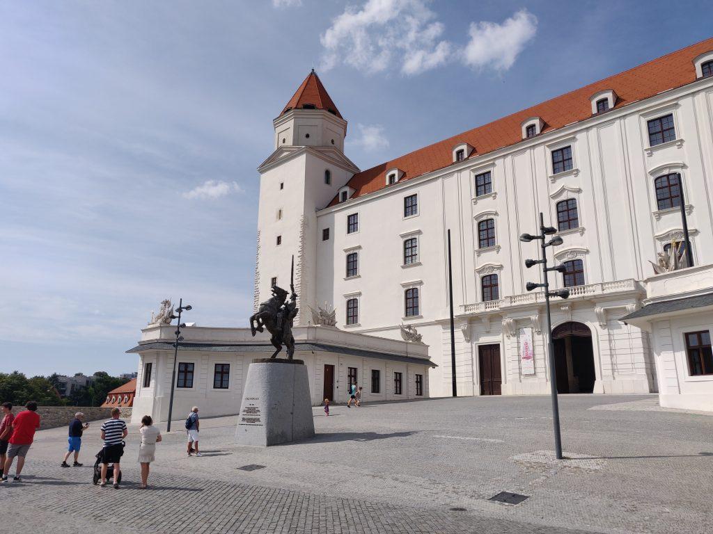Bratislava castle sights
