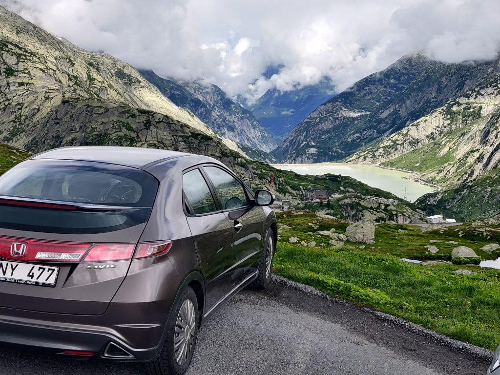 Gimsel Pass, Switzerland