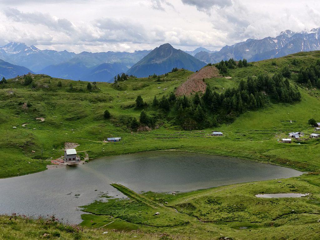 Hike around Grand Chavalard mountain, Switzerland
