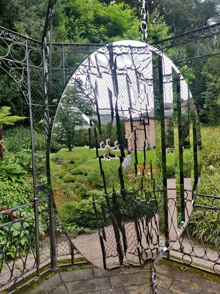 Mirror sculpture in Baden-Baden