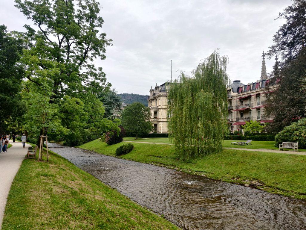 river in Baden-Baden