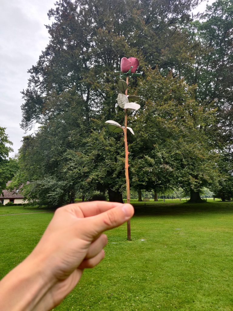 Rose in Baden-Baden