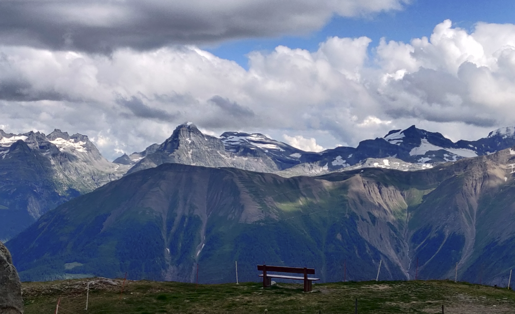 Hike around Morel, Switzerland